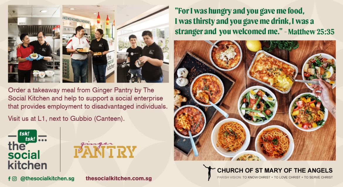 The Social Kitchen x The Ginger Pantry at St Mary of the Angels