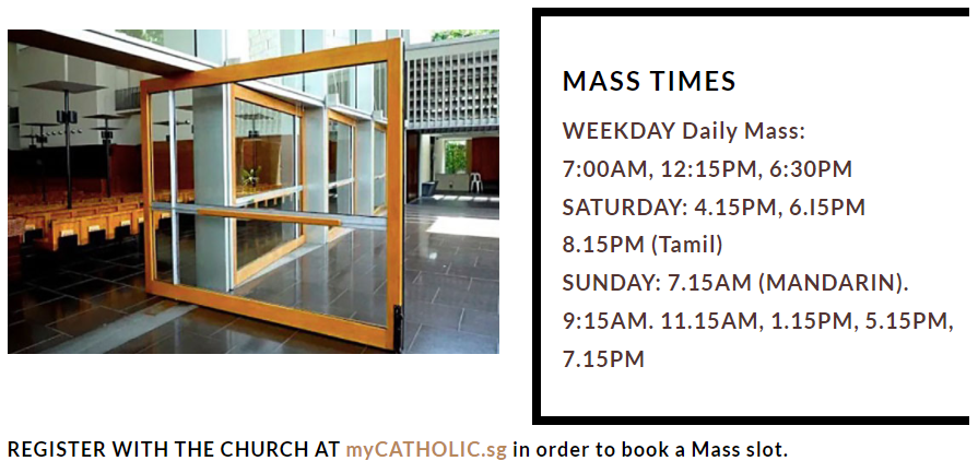 Mass Timings
